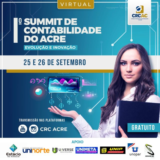 1º SUMMIT DE CONTABILIDADE DO ACRE.